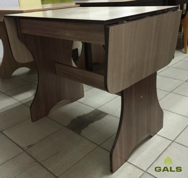 Стол обеденный 600*800мм (+2*300)