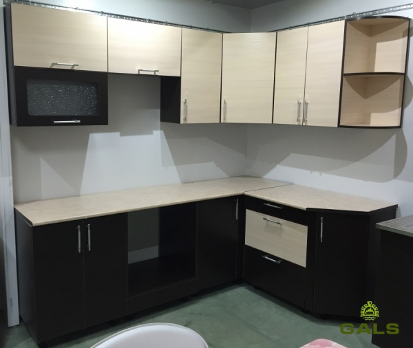 Кухня «Вячэра-Люкс», 1,6м*2,2м (угловая)