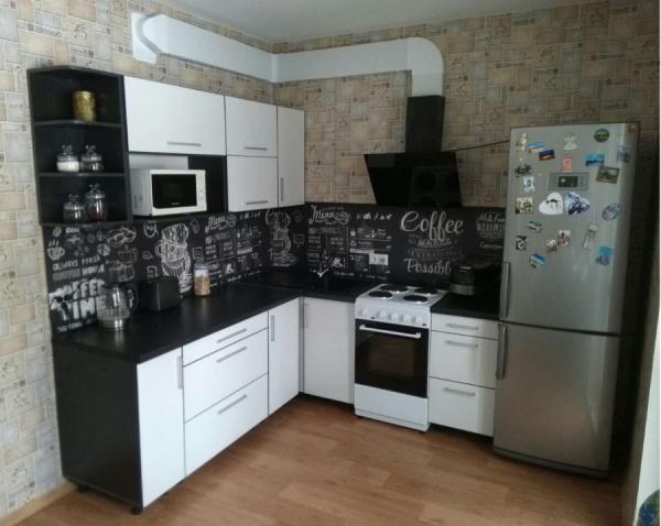 Кухня «Вячэра-Люкс», 2,1м*1,7м (угловая)