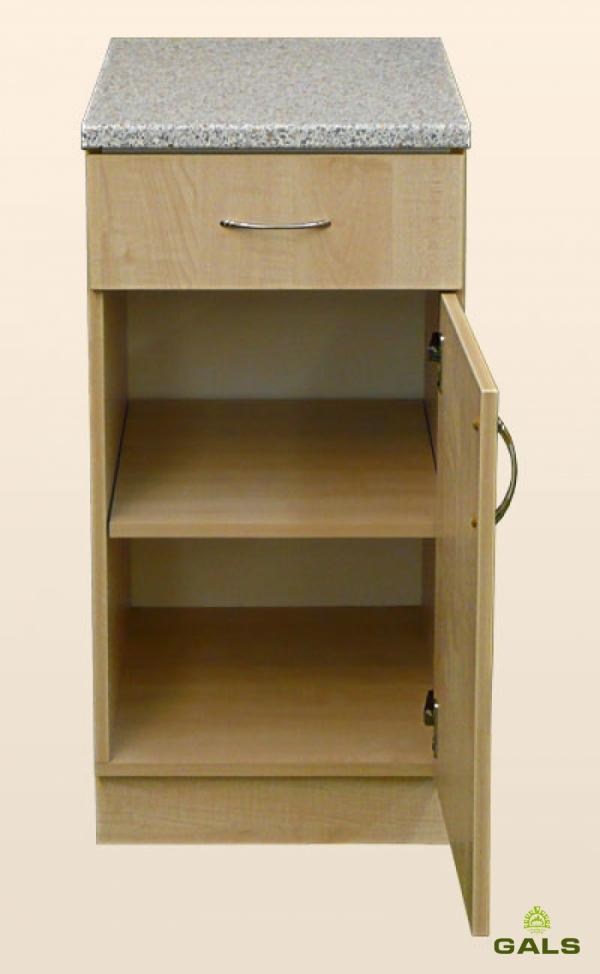 Шкаф-стол рабочий 400мм (с шуфлядой)