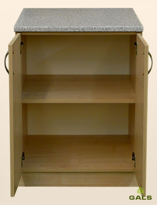 Шкаф-стол рабочий 600мм (без шуфляд)