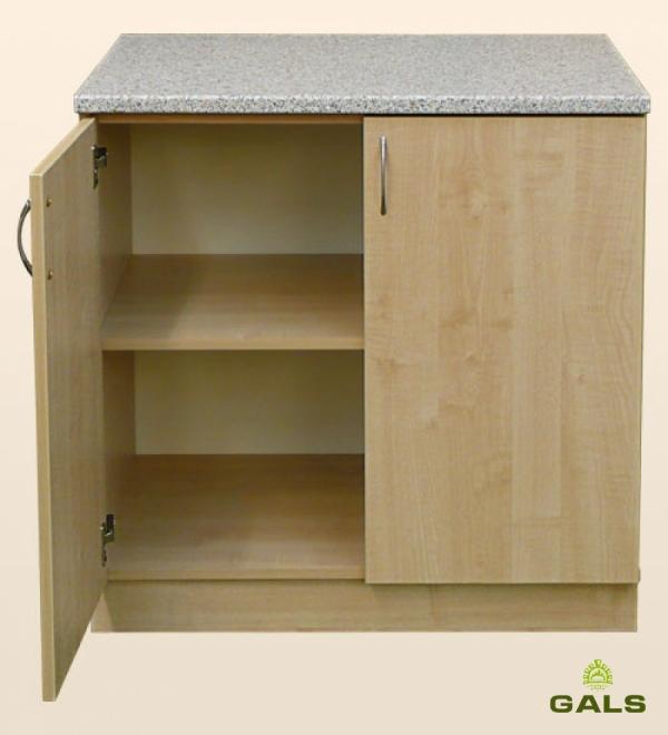 Шкаф-стол рабочий 800мм (без шуфляд)