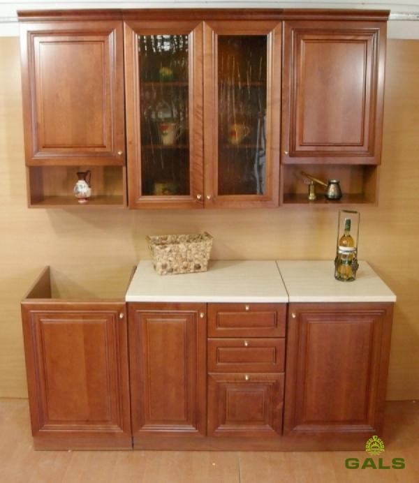 Кухня «Вячэра-Люкс», 1,8м (массив)